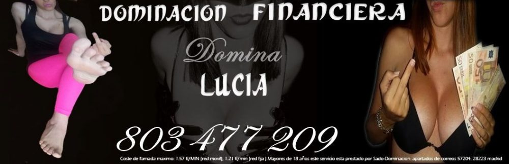 Dominacion financiera | Domina lucia | Dominatrix por webcam Bdsm